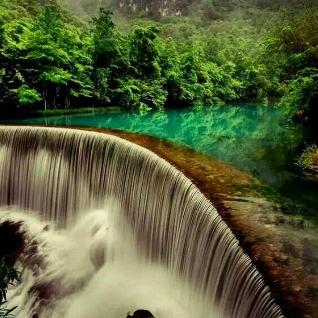 壁纸 风景 旅游 瀑布 山水 桌面 640_640