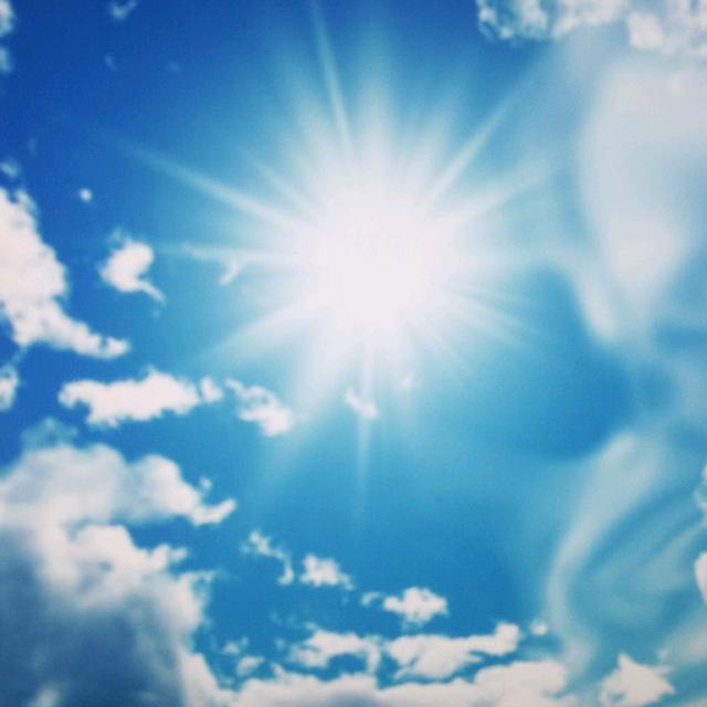 微信 头像 风景 太阳